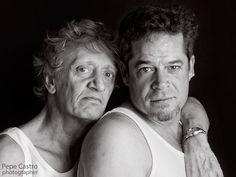 Galeria de retratos. Fotografias de distintos personajes destacados de la sociedad y la cultura