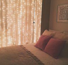 Герлянда на шторы. Точечный свет.