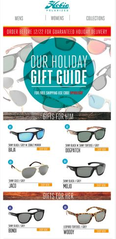 3a783df012e Get your Hobie s with free shipping!! Polarized Sunglasses