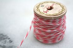 Bakers twine in strawberry pink! #pinhonest