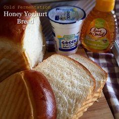 My Mind Patch: Honey Yoghurt Bread (Cold Fermentation) 蜂蜜优格吐司(低温发酵法)