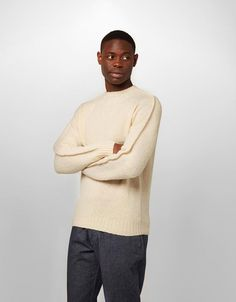 Ridge Knit Jumper - You Must Create (YMC) fe313698af5