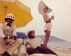 antonio lopez, corey tippin & donna jordan, st. tropez, 1970