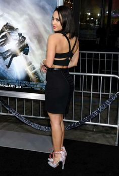 Francia Raisa at Project Almanac Premiere in Hollywood - Cinebuzz Francia Raisa, Hollywood Celebrities, In Hollywood, Project Almanac, Bikini, Secret Life, American Actress, Hot, Famous People