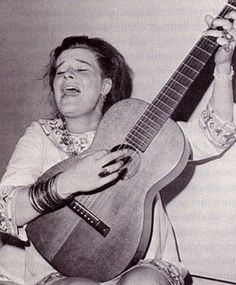 Janis Joplin in the early sixties, before she was famous