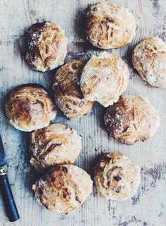 The easiest morning buns Danish Cuisine, Food Club, Bread And Pastries, Biscuits, No Bake Treats, Croissants, Macaron, Bread Baking, Food Inspiration