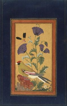 poppy & finch Mughal painting