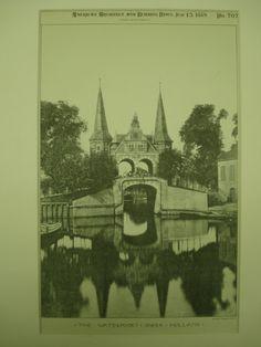 Waterpoort, Sneek, Holland, EUR, 1889, Unknown