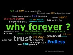 Why Forever http://www.qlsgroupweb.net/uk/m/a/who_we_are/who_we_are.cfm?username=GSZ5037