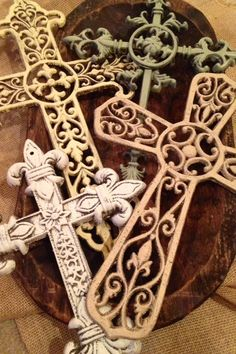 Crosses at the Rusty Porch Find us on Facebook https://www.facebook.com/therustyporch