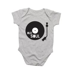 Old Soul Onesie - 6-12 Months – On Centre