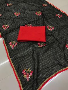 chanderi cotton saree chanderi cotton saree Work Sarees, Cotton Saree, Cool Outfits, Womens Fashion, Stuff To Buy, Black, Nice Outfits, Black People, Women's Fashion