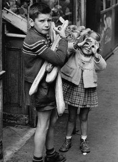 André Martinm Gamins de Paris - Paris 1955