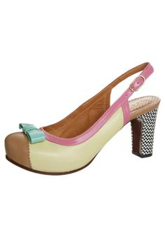 Chie Mihara - BECKY - High heels - yellow Favorite of favorites.  Saw them in a shop window.  Fell in love.  I guess it's better to have loved and not has than to never have loved at all...