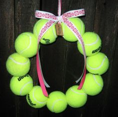The Original Tennis Wreath without letter by BabyToesbyChristy, $35.00
