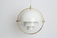 Louis Weisdorf multi-light pendant for Lyfa