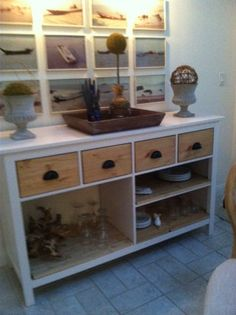 This is my sideboard - YAY! Dining Room Sideboard from Hemnes dresser! - IKEA Hackers