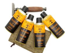 Shaving oil for Men and Women - Natura - Pre-shave Oil for all Skin Types, All Natural Shaving Oil Oils For Men, Pre Shave, Shaving Oil, Handmade Gift Tags, Melaleuca, Travel Size Products, Natural Skin Care, Plant, Range