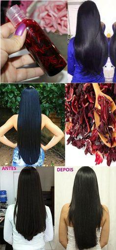 ÓLEO de HIBISCO CASEIRO para o Seu CABELO CRESCER MUITO #cabelo #crescimento #força #beleza