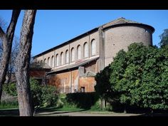 #49. Santa Sabina. Rome, Italy. Late Antique Europe. c. 422-432 CE. Brick and stone, wooden roof. Khan Academy video