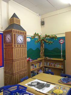 Big Ben in the classroom of natuurlijk iets anders..