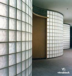 Glass Blocks Wall, Cafe Design, Corridor, Architecture Design, Interior, Modern, Home Decor, Glass, Walls