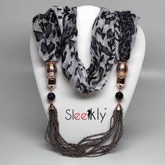 Give this Jewelry scarf this Christmas to your loved ones! #christmasgifts