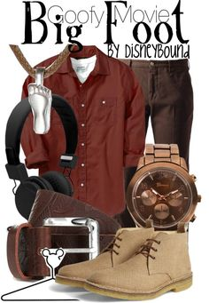 """Big Foot"" by lalakay on Polyvore. I Gotta Say, I'm a Believer!"