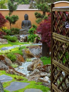 Divine Entrance - Elegant Zen Garden Retreat on HGTV