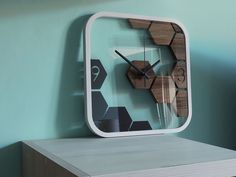Clocks Inspiration, Inspiration Design, Wall Clock Wooden, Wood Clocks, Clock Wall, Antique Clocks, Best Wall Clocks, Unique Wall Clocks, Diy Clock