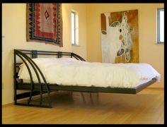 Floating steel bed, Austin IronWorks, Kansas City