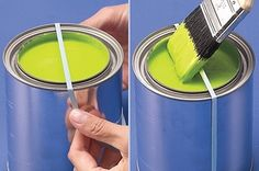 47 Tips And Tricks To Ensure A Perfect Paint Job Painting can be a daunting and messy task. These helpful hacks will save you time and make your life way easier. Painting Concrete, Drip Painting, Painting Tips, Spray Painting, Tips And Tricks, Painted Trays, Gold Spray Paint, Paint Supplies, Apartment Ideas