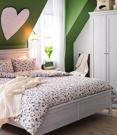 Dachschräge - ganze Wand streichen: Wenn Sie mit einer markanten ...
