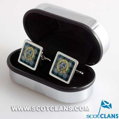 Kennedy Clan Crest Cufflinks
