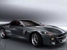 Mercedes- Benz Gullwing Coupe Concept