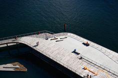 'Kalvebod Waves' designed park by JDSArchitects is intended to revitalize Copenhagen's urban waterfront.