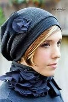 499a695e91ac6 45 Fascinating Winter Hats Ideas For Women With Short Hair