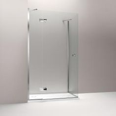 Minima hinged enclosure 900 x 1400mm, with Oblique handle.