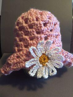 Spring Hat by Kraftybea on Etsy