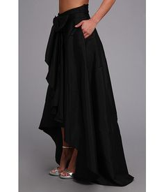 Adrianna Papell High-Low Ball Skirt Black - Zappos.com Free Shipping BOTH Ways