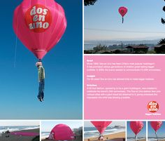 Guerrilla Marketing – Creative Attention Seeking #6 - Dos En Uno Balloon