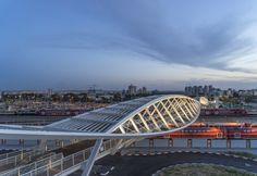 The High-Tech Park Bridge / Bar Orian Architects
