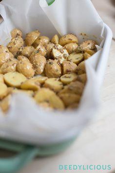 Mosterd aardappels met haricots verts | www.deedylicious.nl