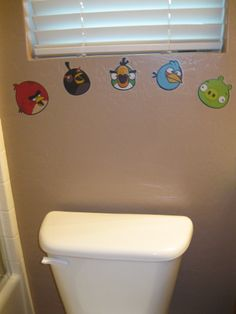 Kid S Angry Bird Bathroom