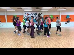 LOCO (by Enrique Iglesias ft Romeo Santos) - Bachata Choreo by Lauren Fitness for Dance Fitness - YouTube