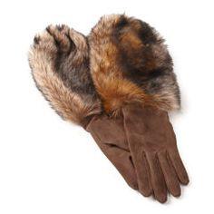 Suede-Shearling Gloves - Ralph Lauren New Arrivals - RalphLauren.com