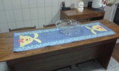 Trilho de mesa de páscoa