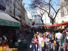Mercado rua Mouffetard