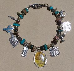 Charm bracelet by Carolyn Hasenfratz