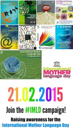Join the #IMLD campaign to raise awareness for the International Mother Language Day!